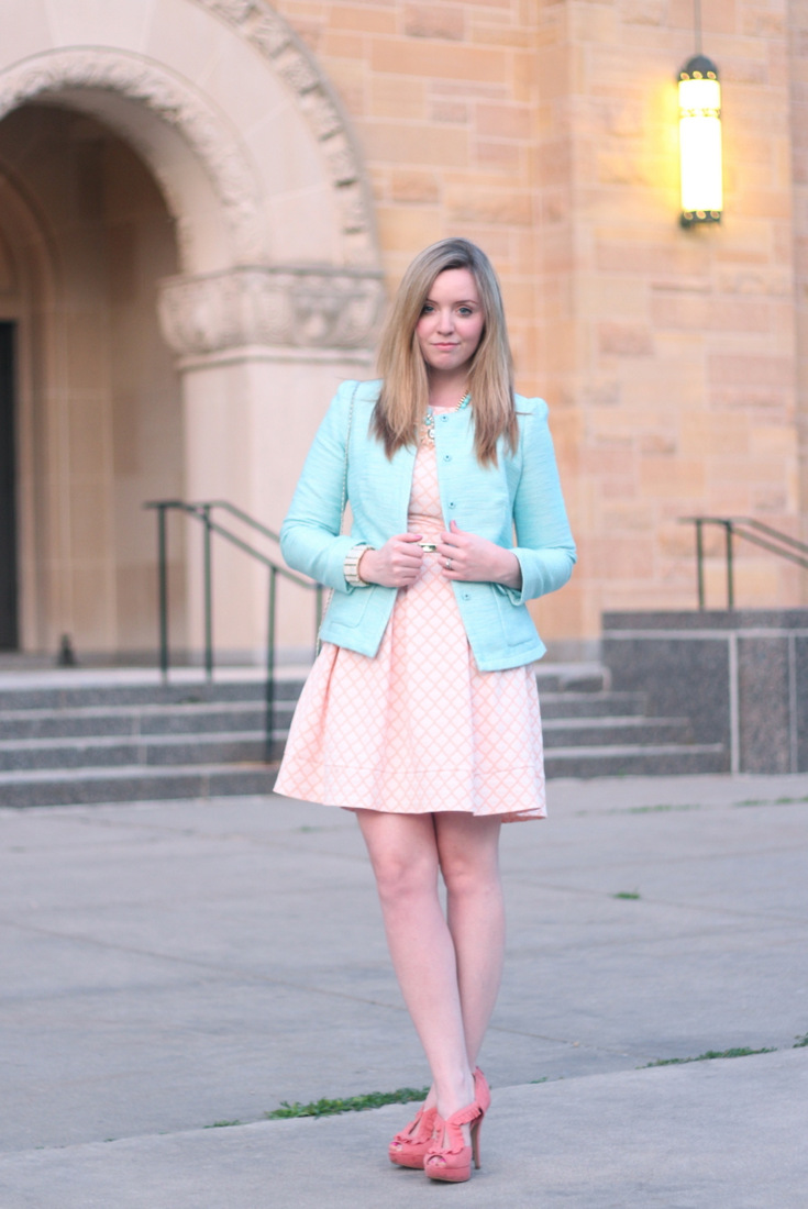 Cotton Candy Summer soiree dress