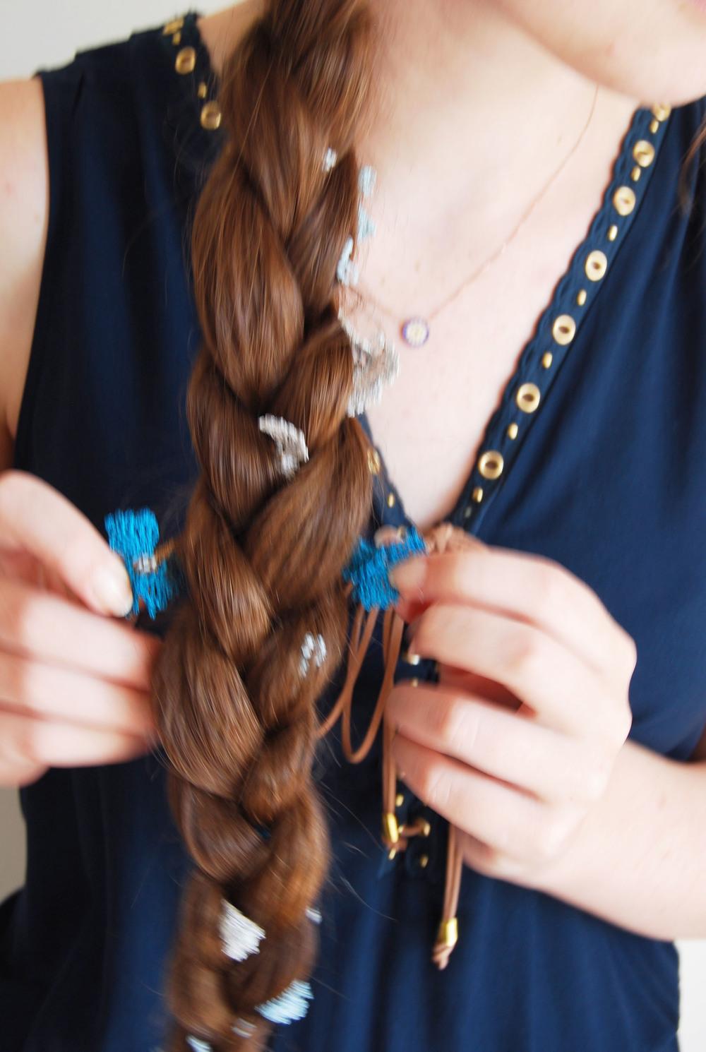 kisa boutique oya lace braid tutorial boho chic