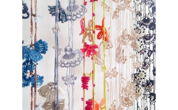 oya lace creative wrap multi color crochet
