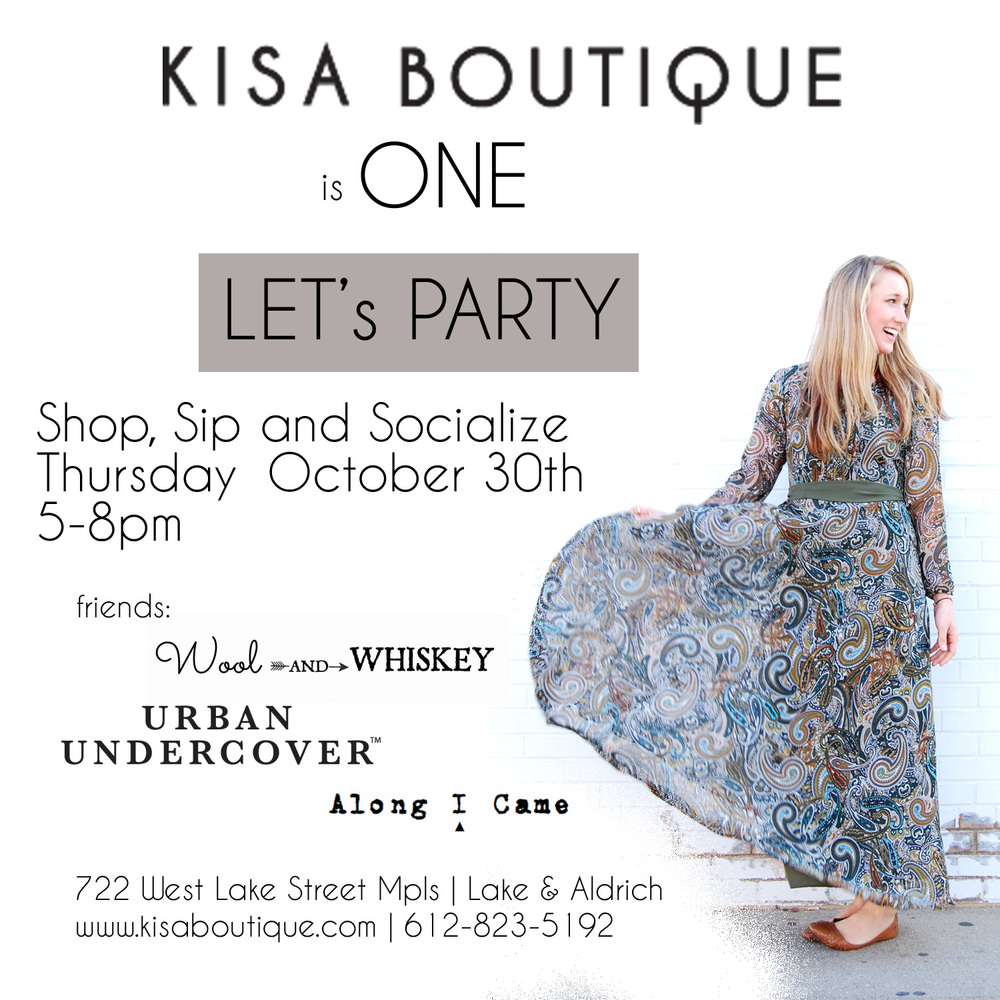 kisa boutique anniversary party jeannine marie photography kisa creative minnesota