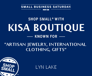 Shop small kisa boutique lynlake minneapolis black friday