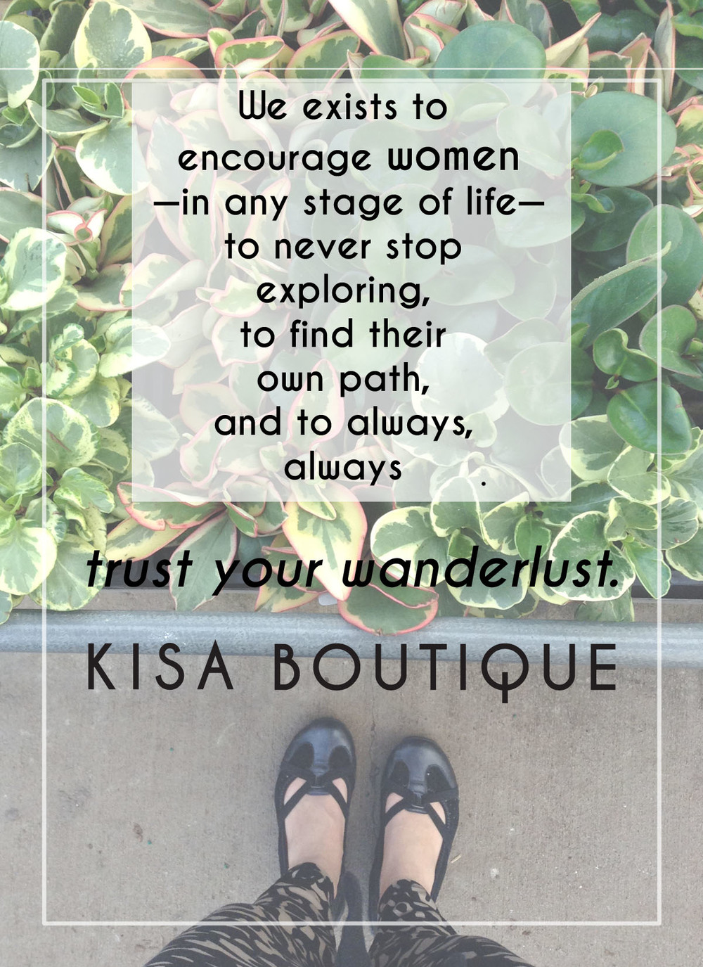 kisa boutique trust your wanderlust what we do