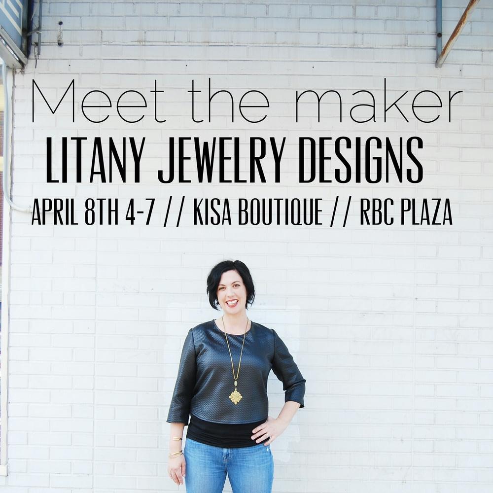 litany jewelry kisa boutique downtown rbc plaza trunk show location