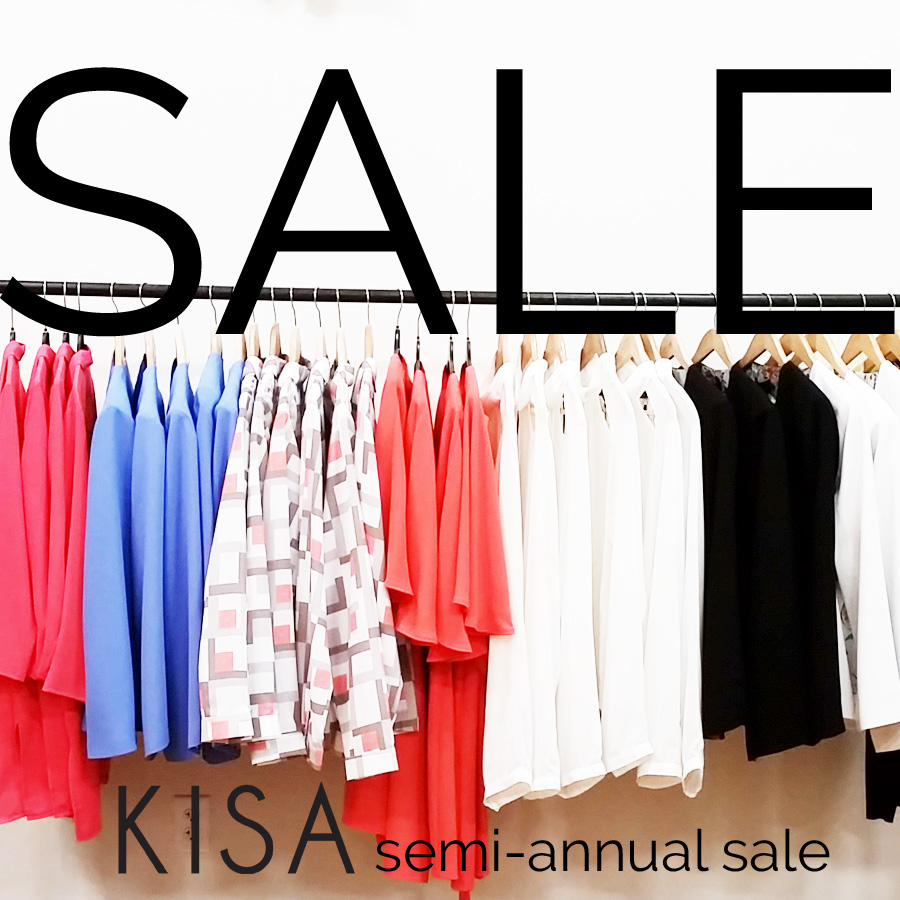 KISA boutique semi annual sale