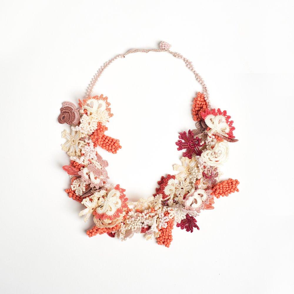 kisa crocheted oya jewelry museum shop