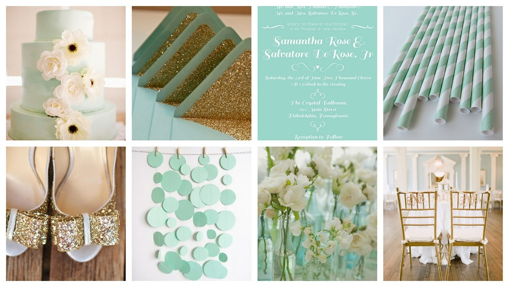 mint gold white wedding inspiration.jpg