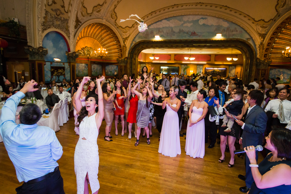 we finished up the night at the empire garden restaurant full of dancing and laughter - Empire Garden