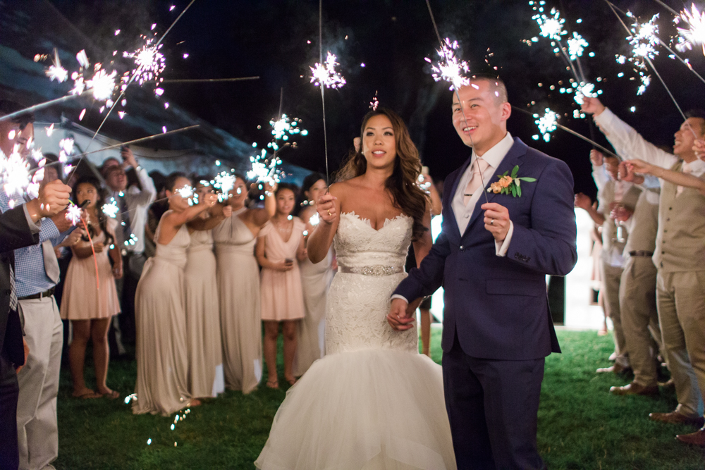 elm-bank-garden-wedding-sparklers