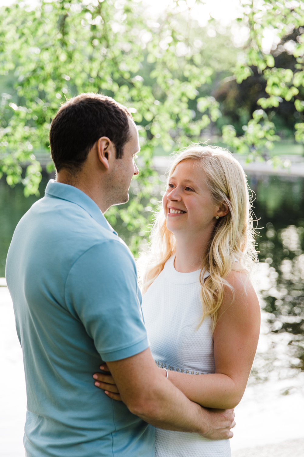 boston common engagement session photography