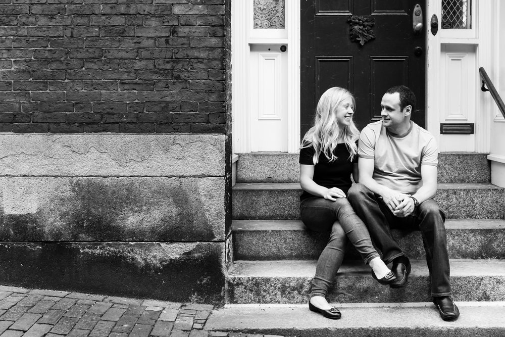beacon hill engagement session photography