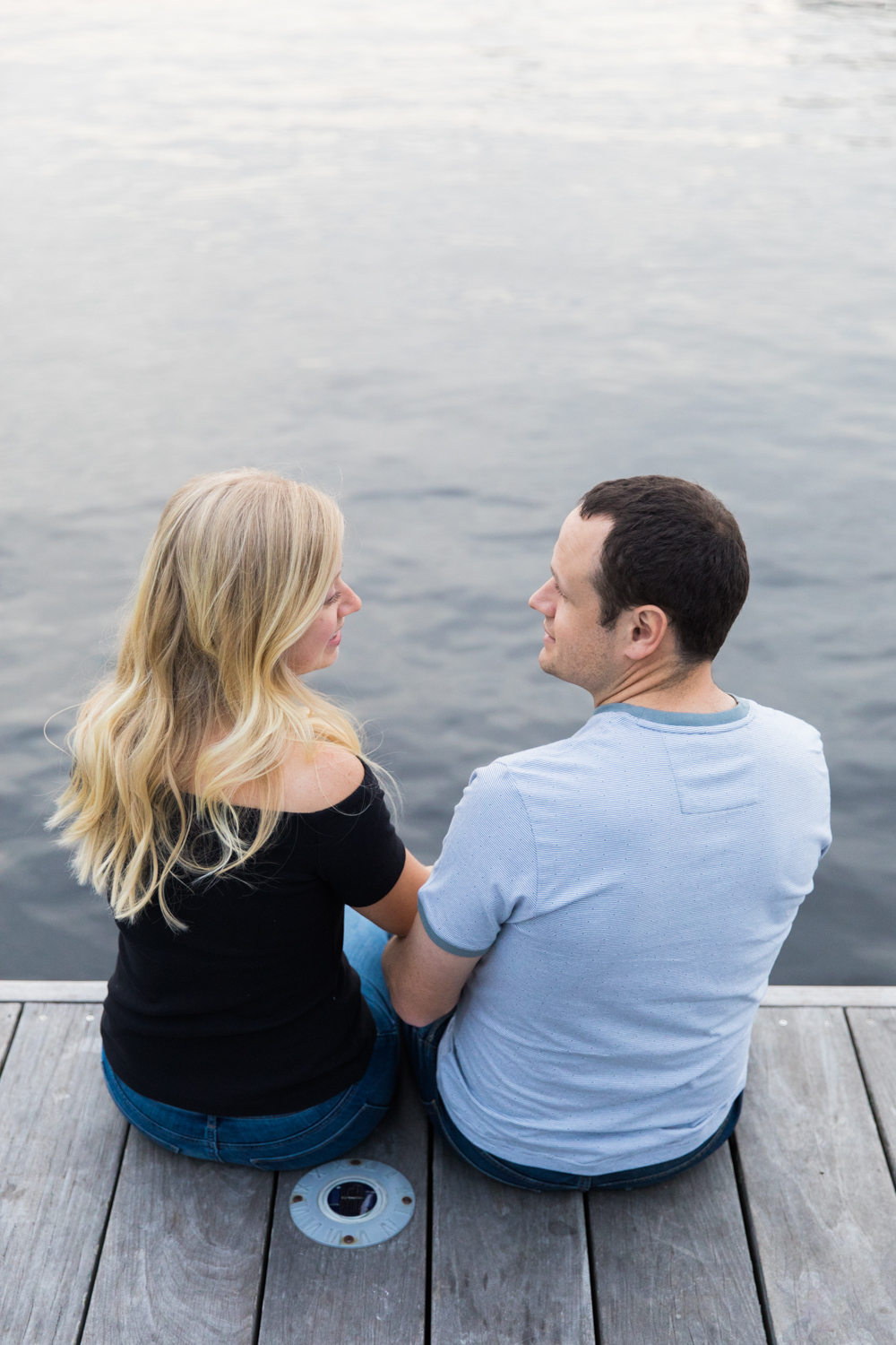 charles river esplanade engagement session photography