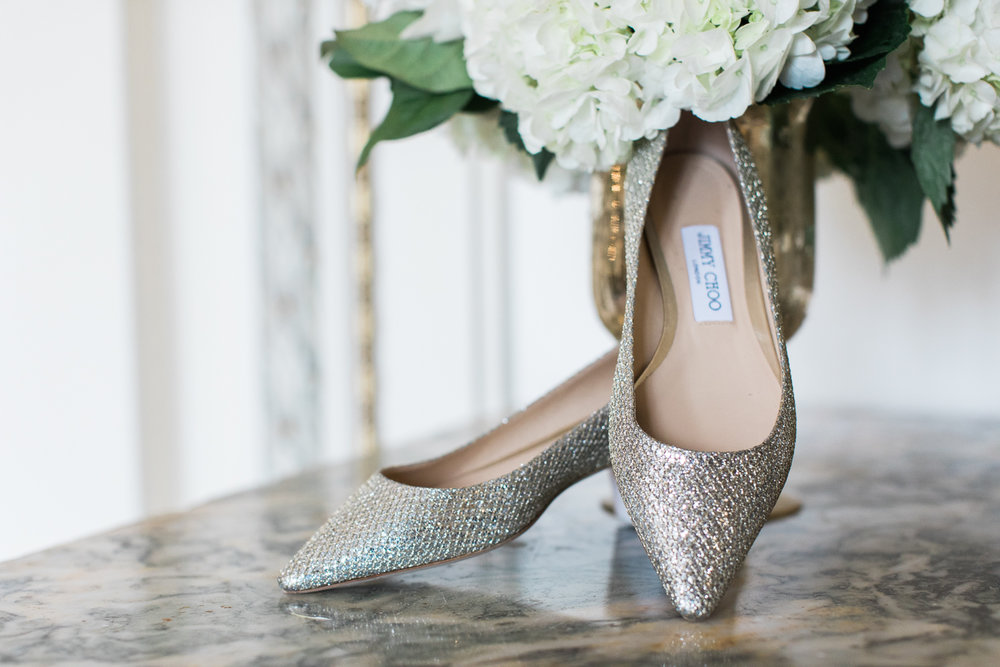 tupper manor wedding photos jimmy choo shoes