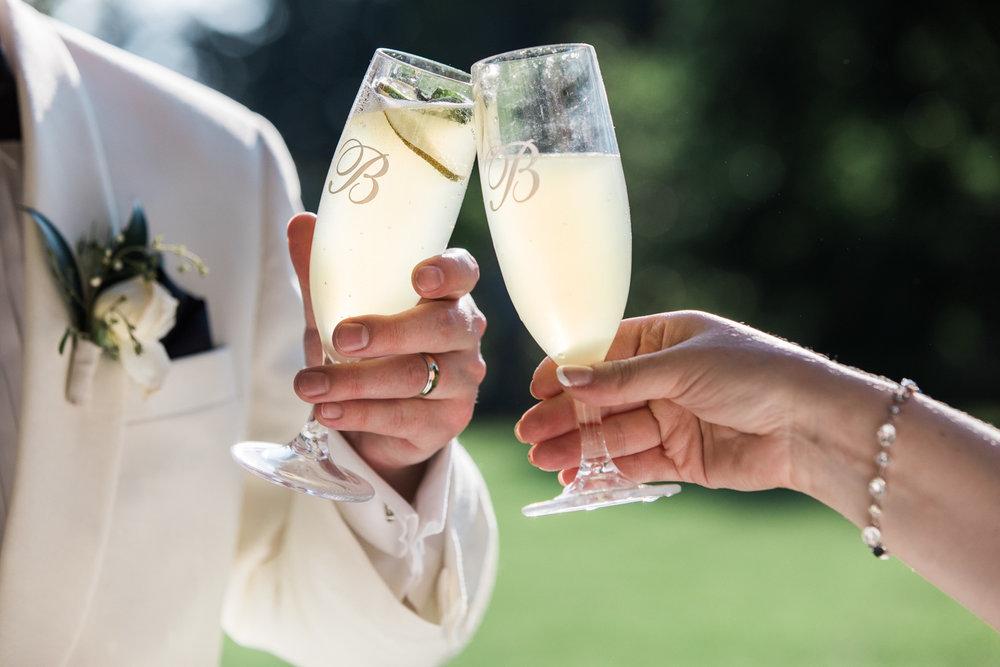 elm bank wellesley wedding photos cocktail hour