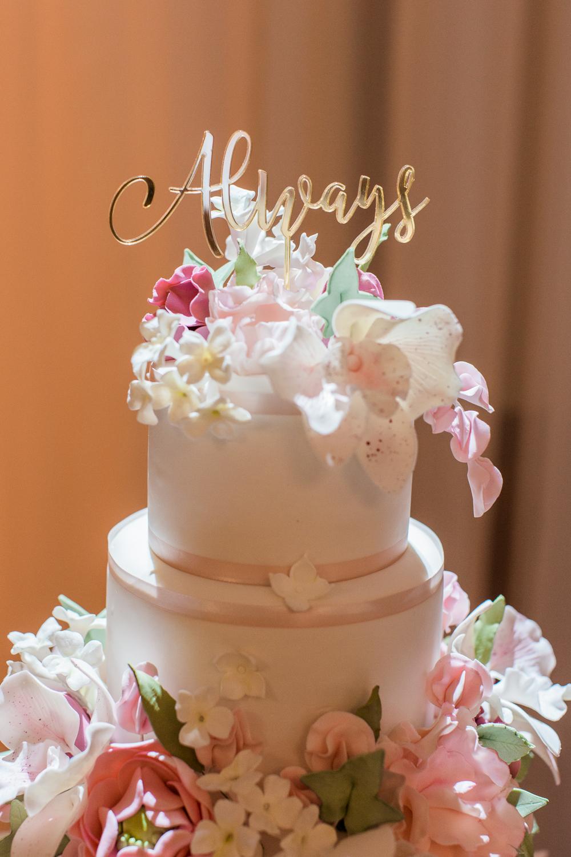 elm bank wedding photos cake