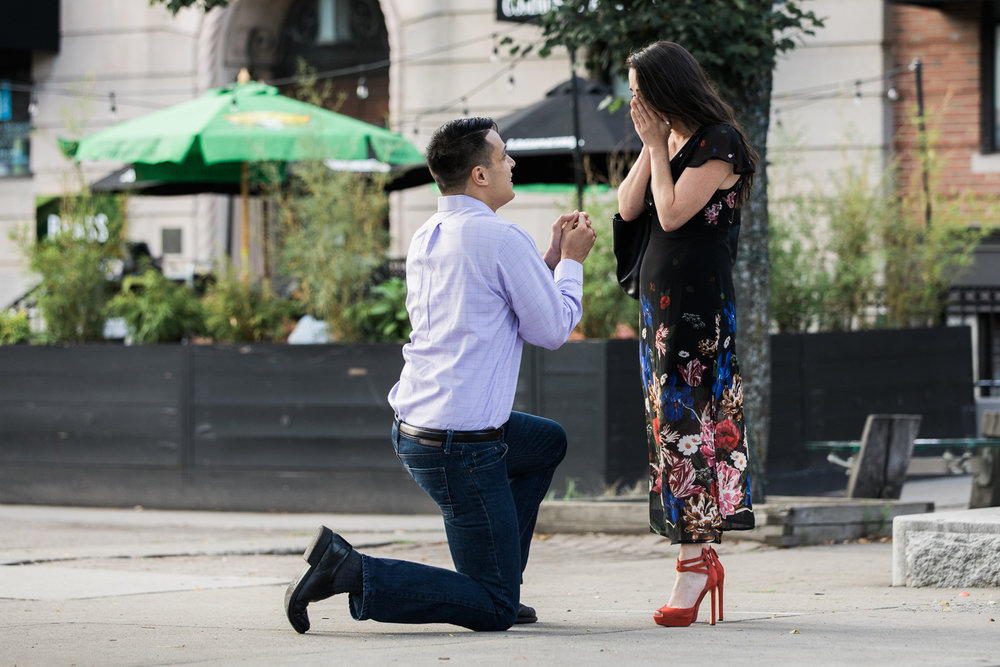 union square engagement surprise proposal