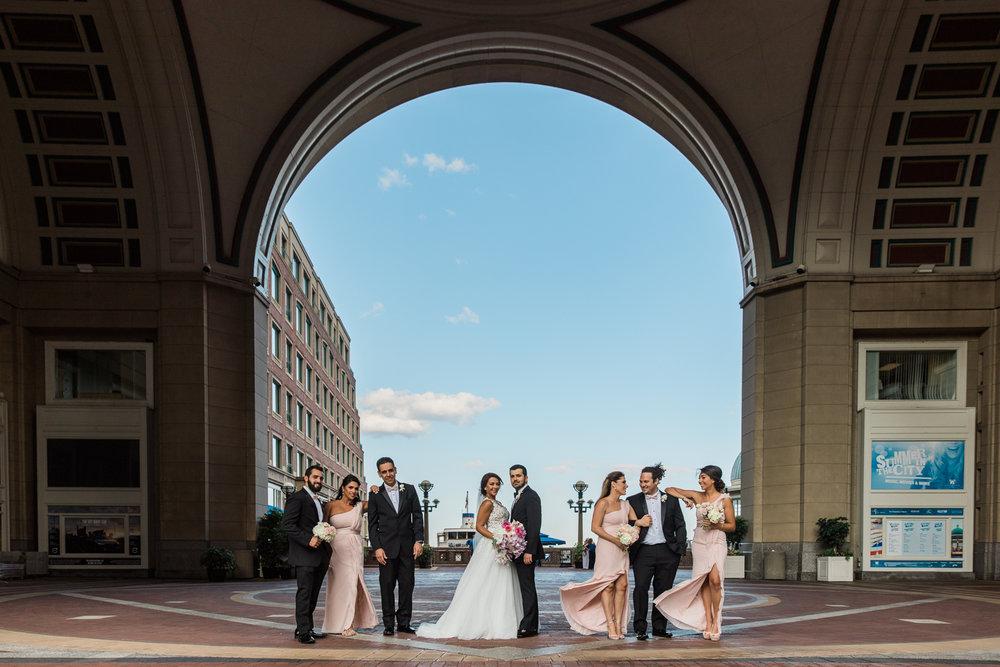 Boston Harbor Hotel Persian Wedding Photos