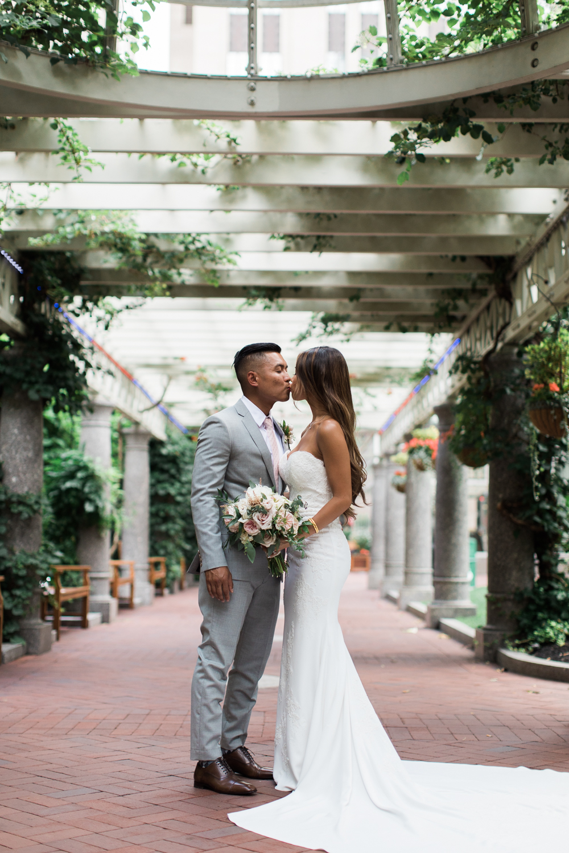Post office square boston vietnamese wedding photos