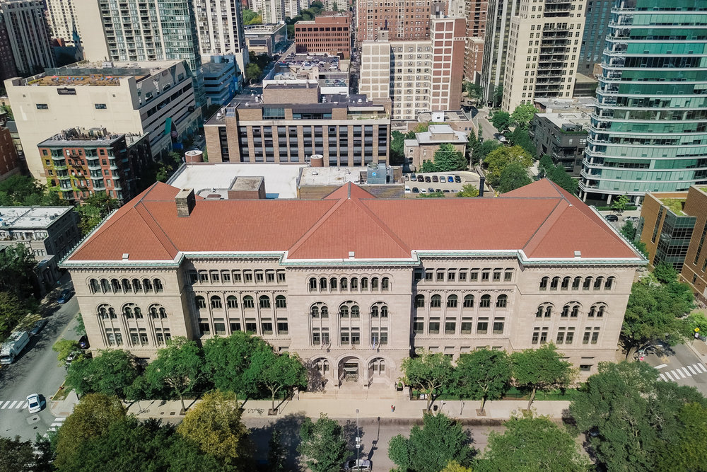 newberry library chicago wedding photos