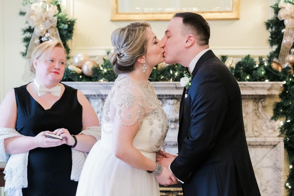 Hampshire House Boston Winter Wedding Photos