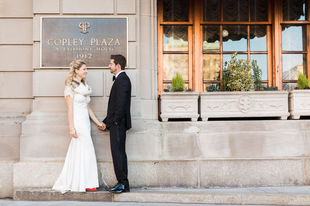 Fairmont Copley Fall Wedding Photos