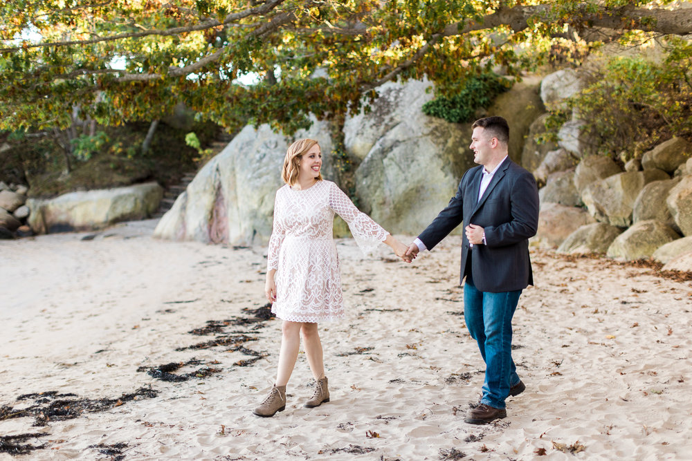 Gloucester Engagement Session Half Moon Beach