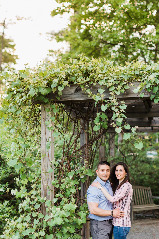 Acton Arboretum Engagement Session Photos