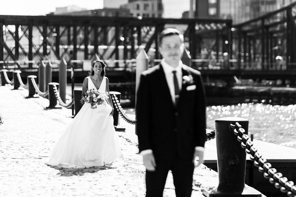 Intercontinental Boston Fan Pier Wedding