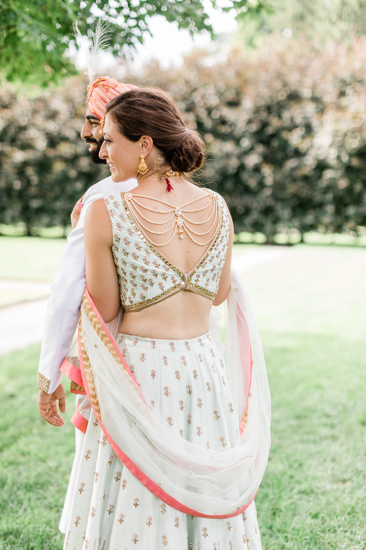 Bride's Indian wedding dress design