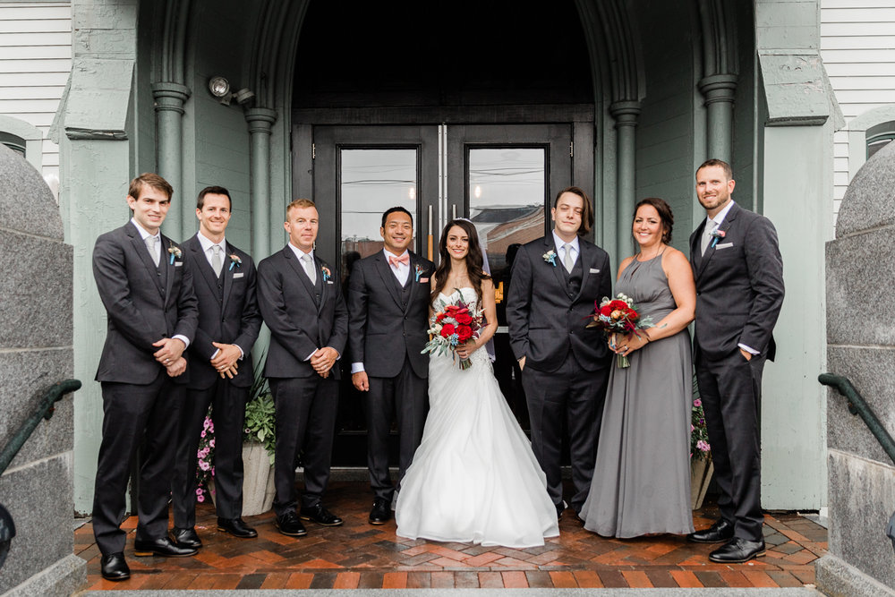 Steeple Hall Newburyport Wedding