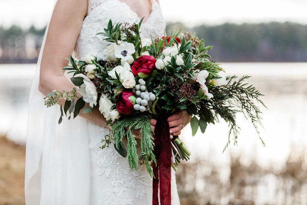 Winter Wedding Floral Bouquet