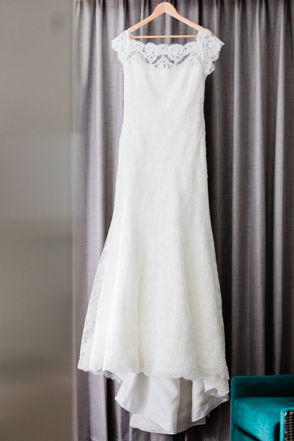 Stunning Monique Lhulier gown from L'elite bridal