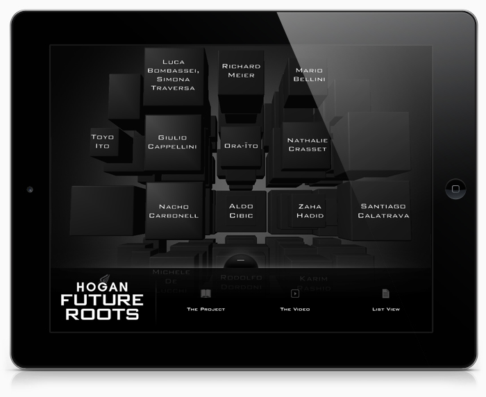 HOGAN Future Roots iOS App — Calliope Studios 7f0908c5d90