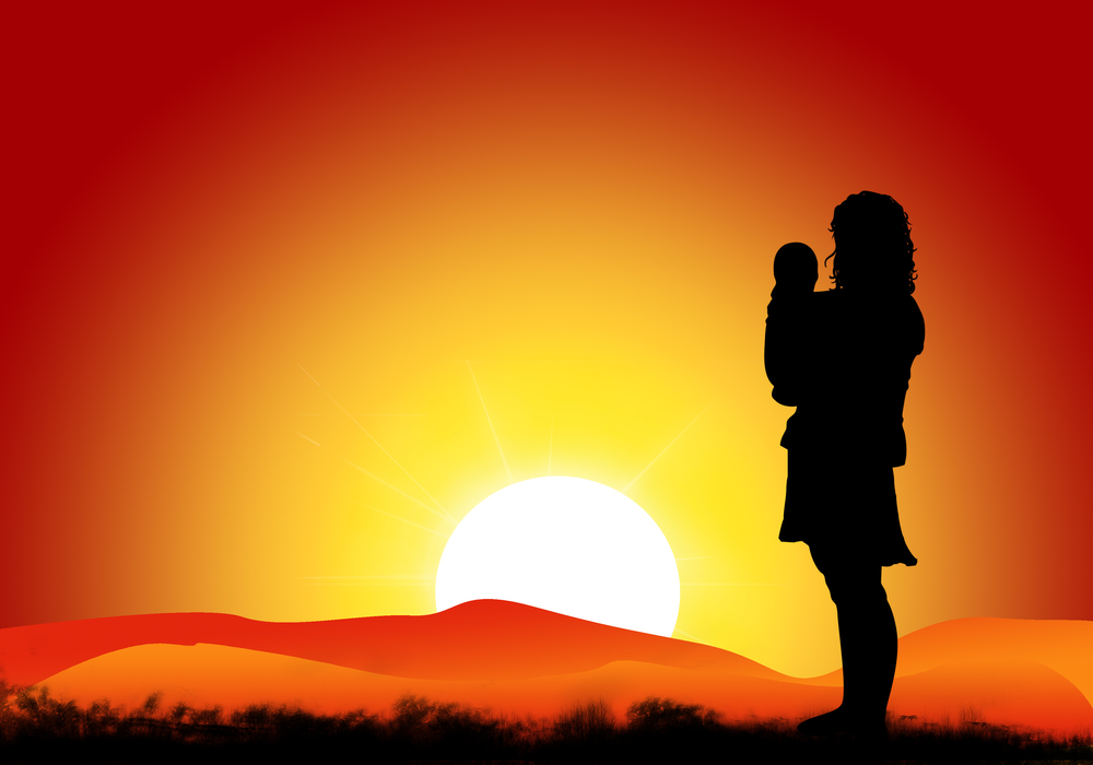 mom in sunset illustration.jpg