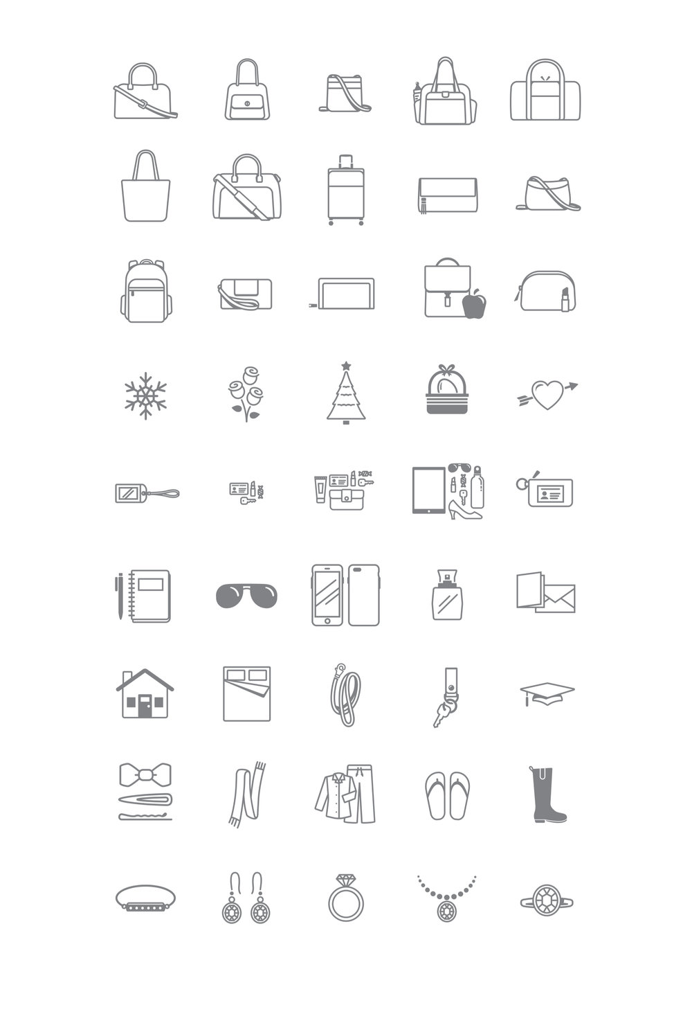 Icons Robert Lin Design