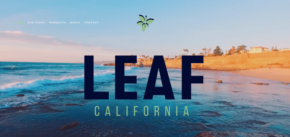 Web design for California horticulture startup.