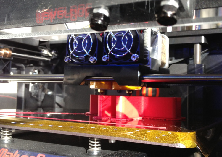 Three Farms's Maker Bot 2X 3D Printer