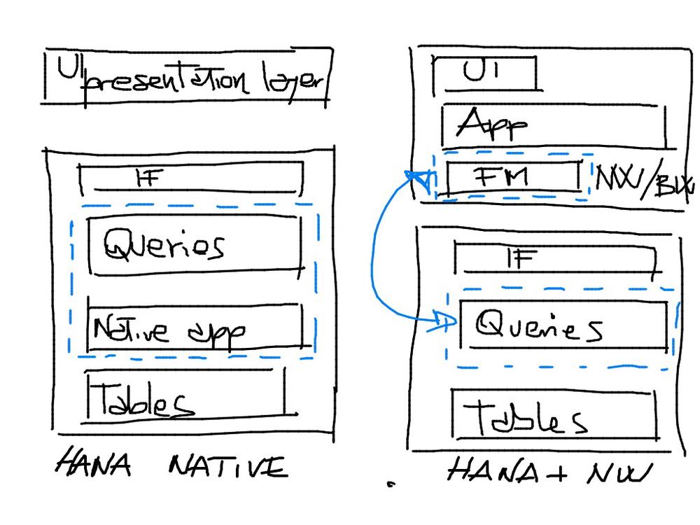 Hana Native vs NW-based HANA solutions