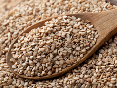 White sesame seeds, Image source Academy of Nutrition and Dietics