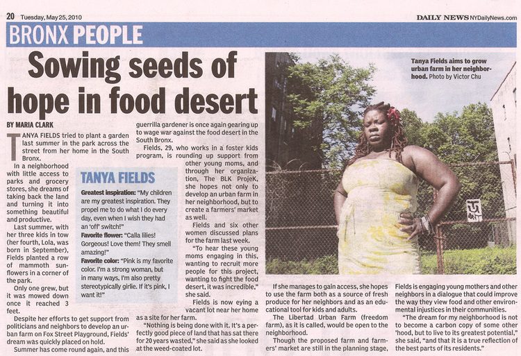 Tanya Fields Daily News