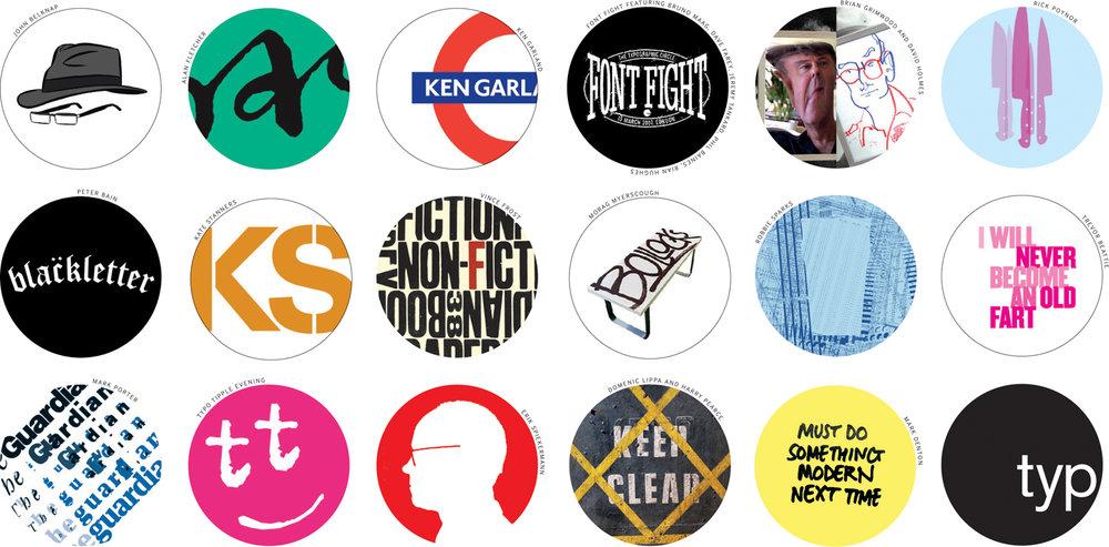 Badges galore…