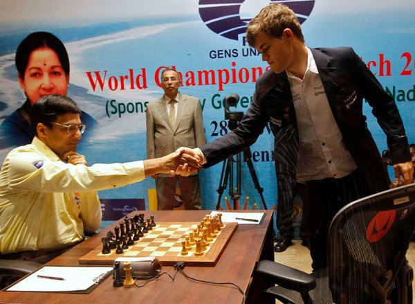 FIDE Chess Set was specially wired and paired with a DGT board for the championship.