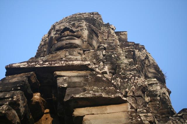 Stunning Bayon temple at Angkor Wat, Cambodia