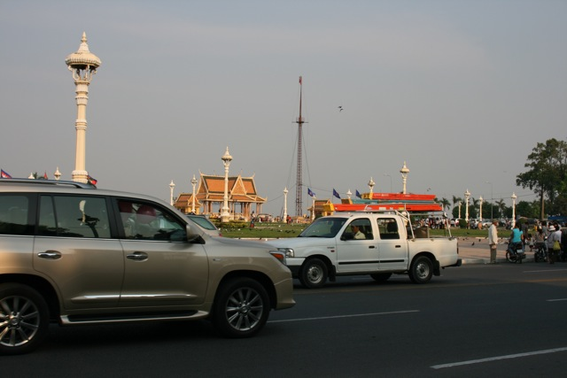 SUVs in Phnom Penh