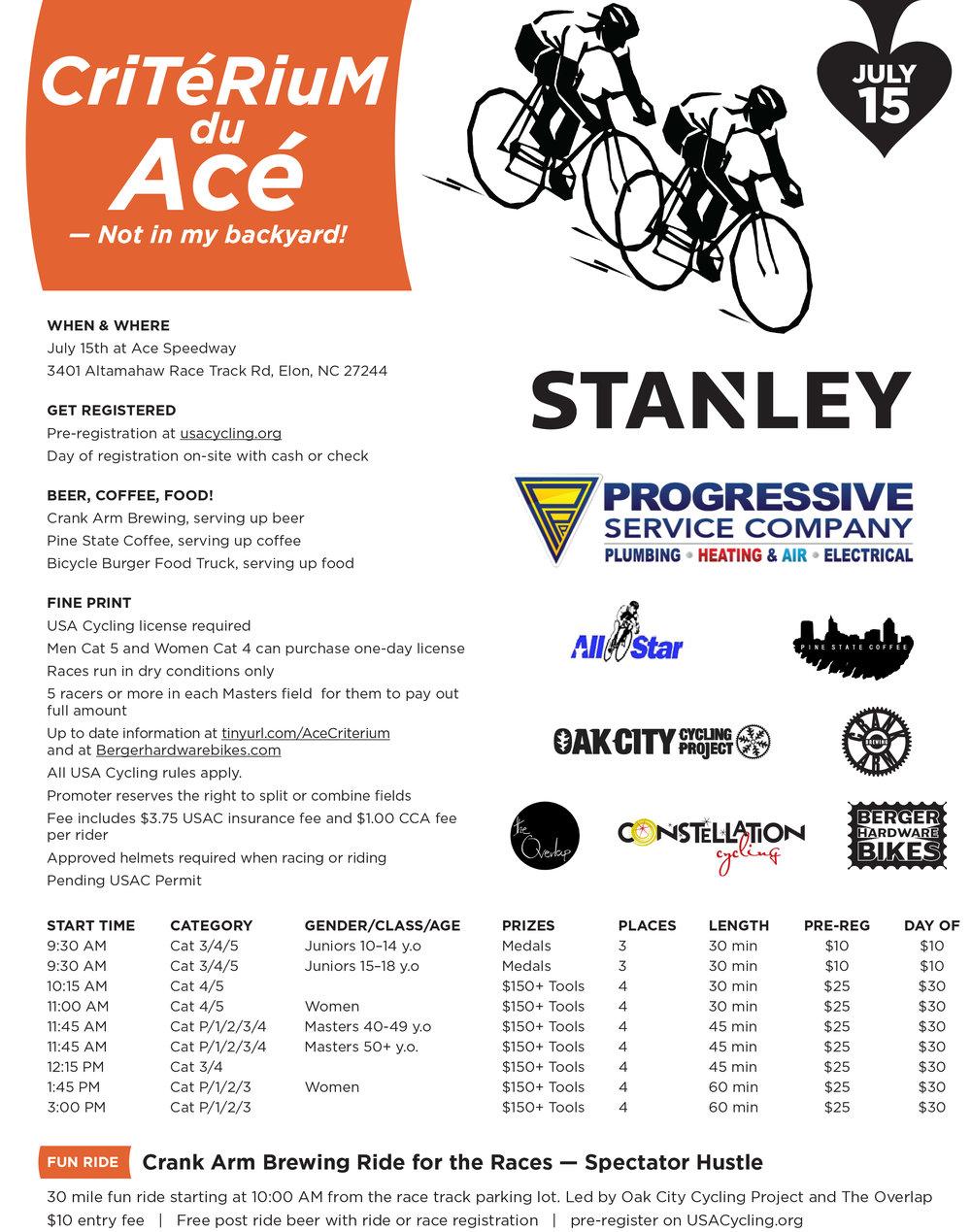 stanley tools criterium du ace u2014 berger hardware bikes