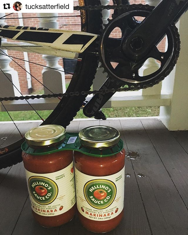 @tucksatterfield got the #racedayprep dialed! 💪Bringin the sauce! Huge thanks and love to all the racers and all who have donated thus far. It's the finale weekend so it's time to really flex! Show us your #racedayprep !!