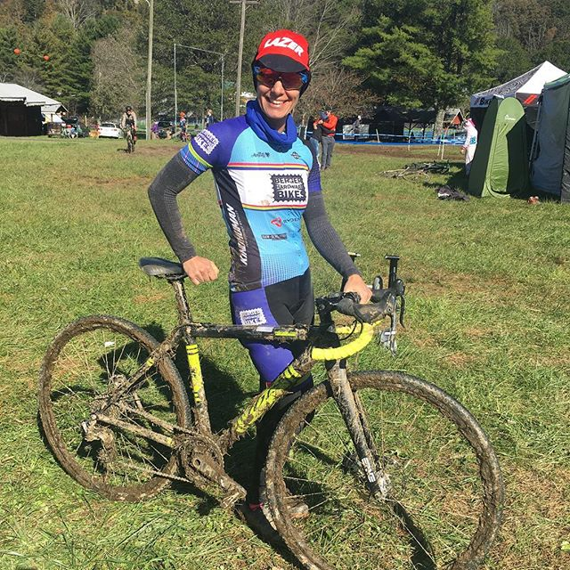 Our little cross fam played hard in the mud in Lenior & Boone this past weekend! The #cxhangover mostly involves lots of bike washing and laundry this Monday 💩