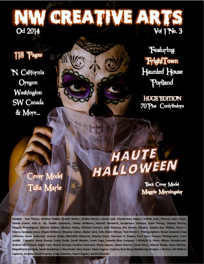 October Haute Halloween Cover
