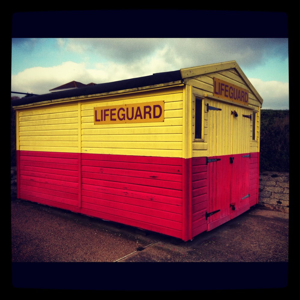 2013 -- The Lifeguards Beach-hut! Old Felixstowe, Suffolk, UK