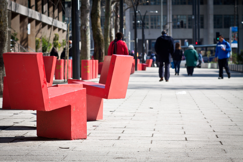 Peatones primero. Diagonal Pedro Aguirre Cerda, Concepción