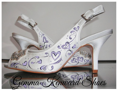 810fc866bd16 Consequently we are going to be painting the brides bridesmaid shoes  however seeing as the bridesmaid is only little we are waiting until nearer  the time so ...